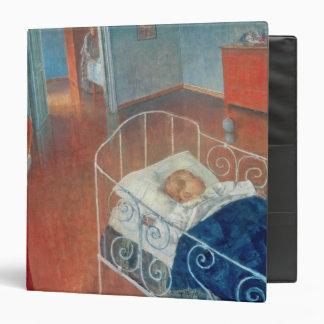 Sleeping Child, 1924 3 Ring Binder