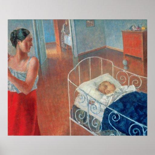 Sleeping Child, 1924 Poster