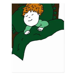 Sleeping Child Postcard