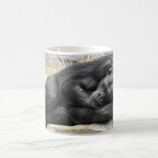 Sleeping Chimpanzee Mug