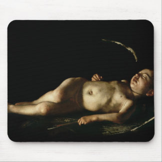 Sleeping Cupid, 1608 Mouse Pad