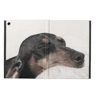 Sleeping Digger Sketch iPad Air Cover