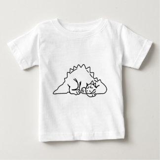 Sleeping Dino Baby T-Shirt