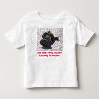Sleeping Dog Toddler T-shirt