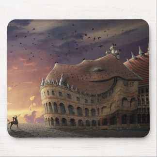 Sleeping Dragon Castle Mouse Pad