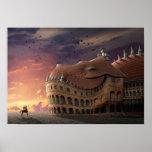 Sleeping Dragon Castle Poster