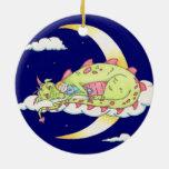 Sleeping Dragon Ornament