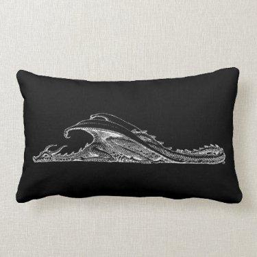 Sleeping Dragon Pillow