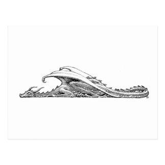 Sleeping Dragon Postcard