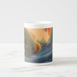 Sleeping dragon tea cup