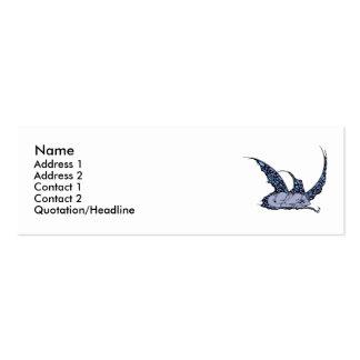 Sleeping Dragonette (Blue) Profile Cards Business Card