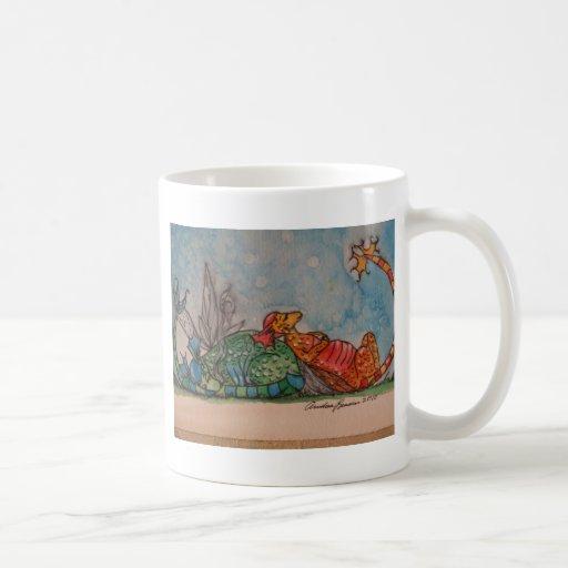 Sleeping Dragons Classic White Coffee Mug