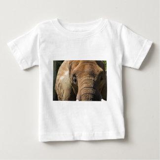 Sleeping Elephant Closeup Baby T-Shirt