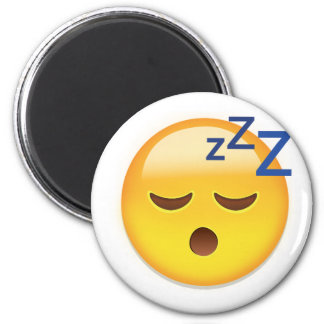 Sleeping Face Emoji Magnet