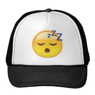 Sleeping Face Emoji Trucker Hat
