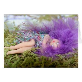 Sleeping Fairy Card
