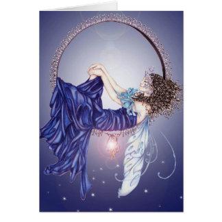 Sleeping Fairy Greeting Card