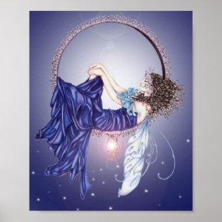 Sleeping Fairy Mini Poster