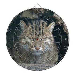 Sleeping Fishing Cat Dart Board