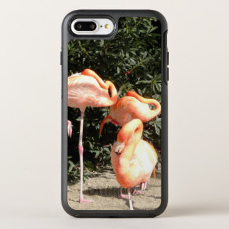 Sleeping Flamingos OtterBox Symmetry iPhone 7 Plus Case
