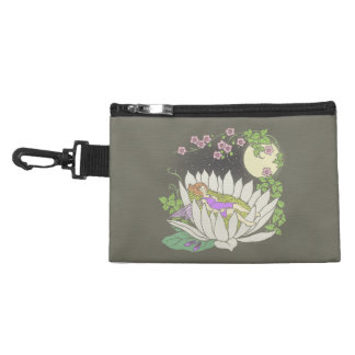 Sleeping Flower Fairy Moonlight Stars Accessories Bag