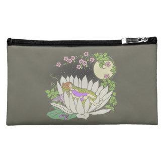 Sleeping Flower Fairy Moonlight Stars Cosmetics Bags