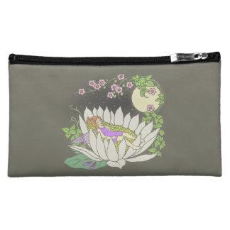 Sleeping Flower Fairy Moonlight Stars Makeup Bags