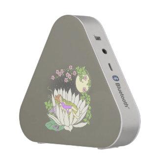 Sleeping Flower Fairy Moonlight Stars Bluetooth Speaker