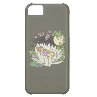 Sleeping Flower Fairy Moonlight Stars Case For iPhone 5C