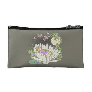 Sleeping Flower Fairy Moonlight Stars Cosmetic Bag
