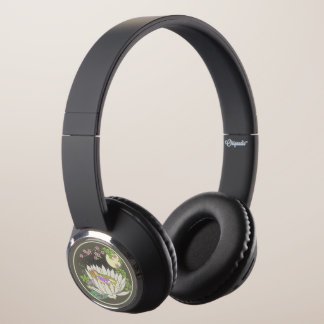 Sleeping Flower Fairy Moonlight Stars Headphones