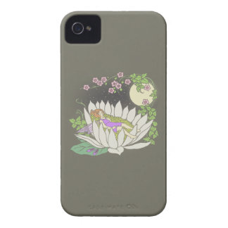 Sleeping Flower Fairy Moonlight Stars iPhone 4 Cover