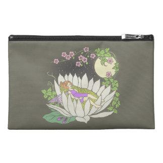 Sleeping Flower Fairy Moonlight Stars Travel Accessory Bag