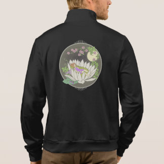Sleeping Flower Fairy Moonlight Stars Printed Jacket