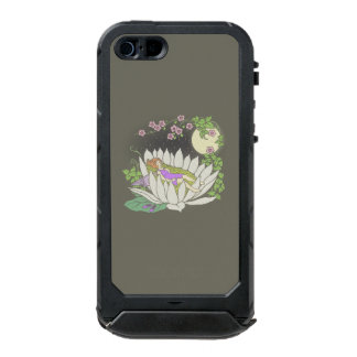 Sleeping Flower Fairy Moonlight Stars Waterproof iPhone SE/5/5s Case
