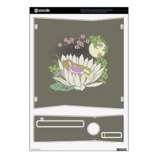 Sleeping Flower Fairy Moonlight Stars Xbox 360 S Console Skins