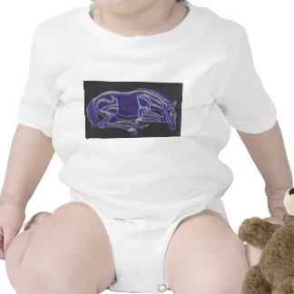 Sleeping Foal Baby Wear Tshirts