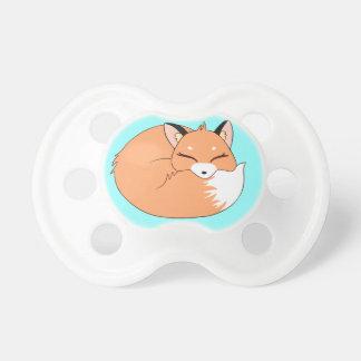 Sleeping Fox Pacifier