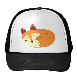 Sleeping Fox Trucker Hat