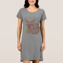 Sleeping Fox Women's Long T-shirt