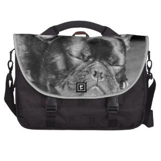 Sleeping French Bulldog Commuter Bags