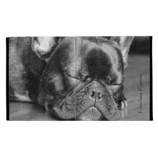 Sleeping French Bulldog iPad Cases