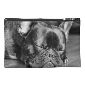 Sleeping French Bulldog Travel Accessories Bags