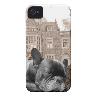 Sleeping French Bulldogs iPhone 4 Covers