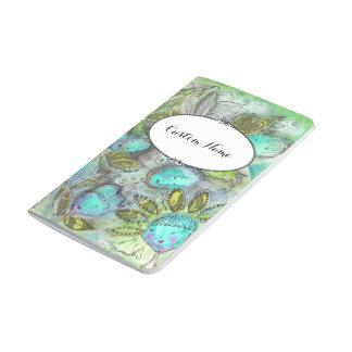 Sleeping Garden  Bullet Journal with Custom Name