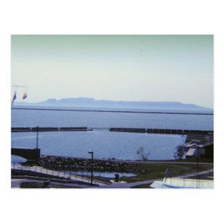 Sleeping Giant Thunder Bay Canada Postcard