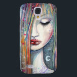 "Sleeping Girl Fantasy Art Samsung Galaxy S4 Cover<br><div class=""desc"">&quot;Asleep&quot;  &#169; Molly Harrison  www.mollyharrisonart.com From my original watercolor illustration.</div>"