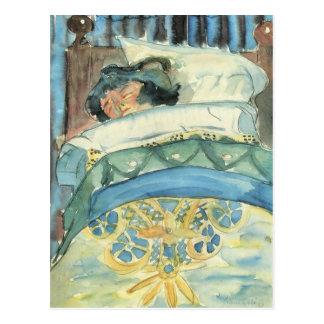Sleeping girl (II) by Walter Gramatte Postcard