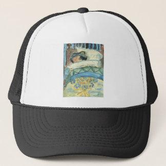 Sleeping girl (II) by Walter Gramatte Trucker Hat
