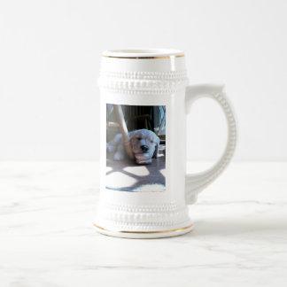 Sleeping Golden Retriever Puppy Mug